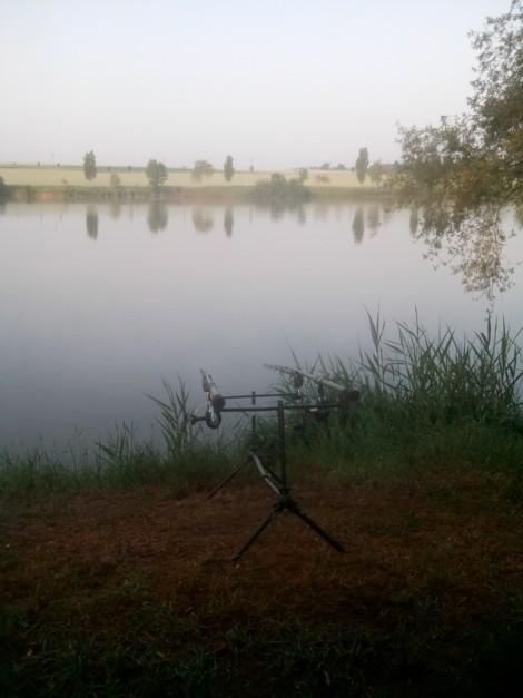 Výprava na nový rybník