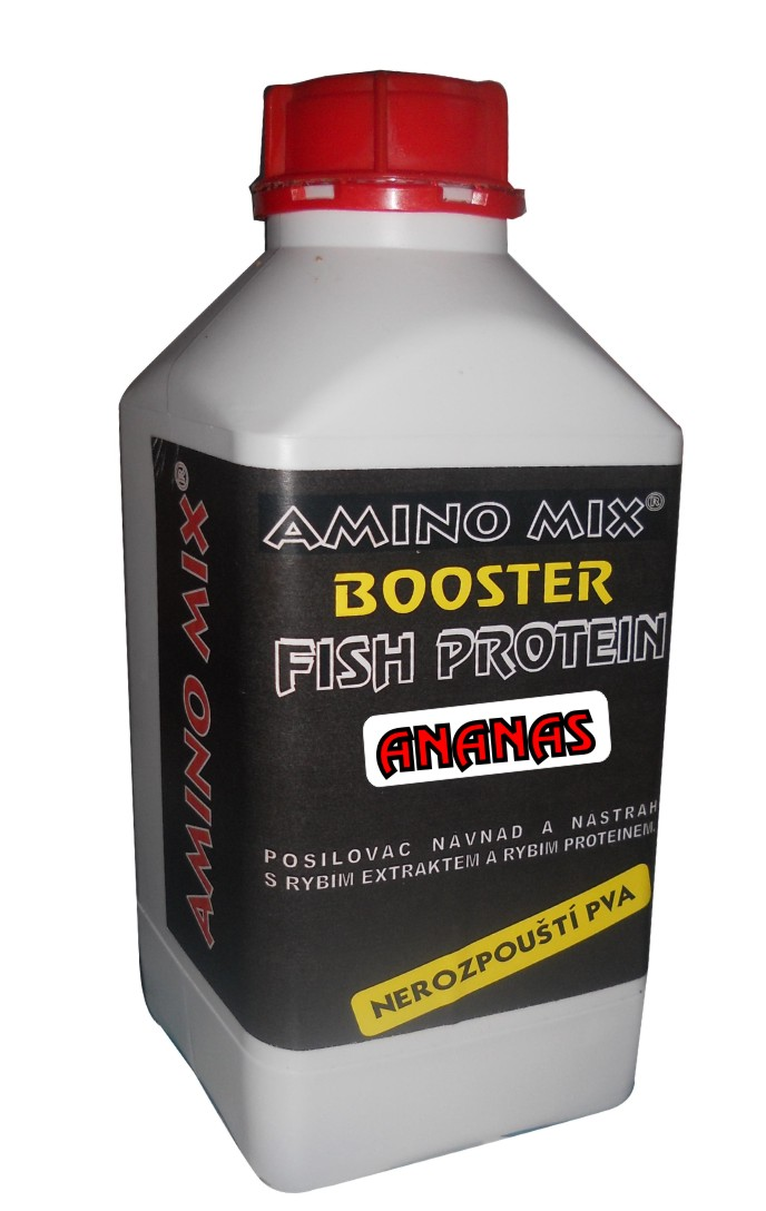 AMINOMIX Booster Rybí Protein 1kg - Jahoda