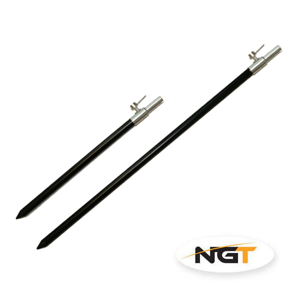 NGT Vidlička Bank Stick Black 30-50cm