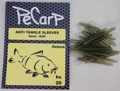 PeCarp Anti tangle sleeves 20ks - Zelená