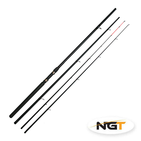 NGT Prut Feeder Twin Top - 12ft, 3díl