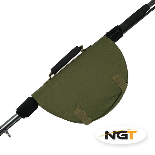 NGT Chránič Navijáku Reel Protector with Attached Rod Bands