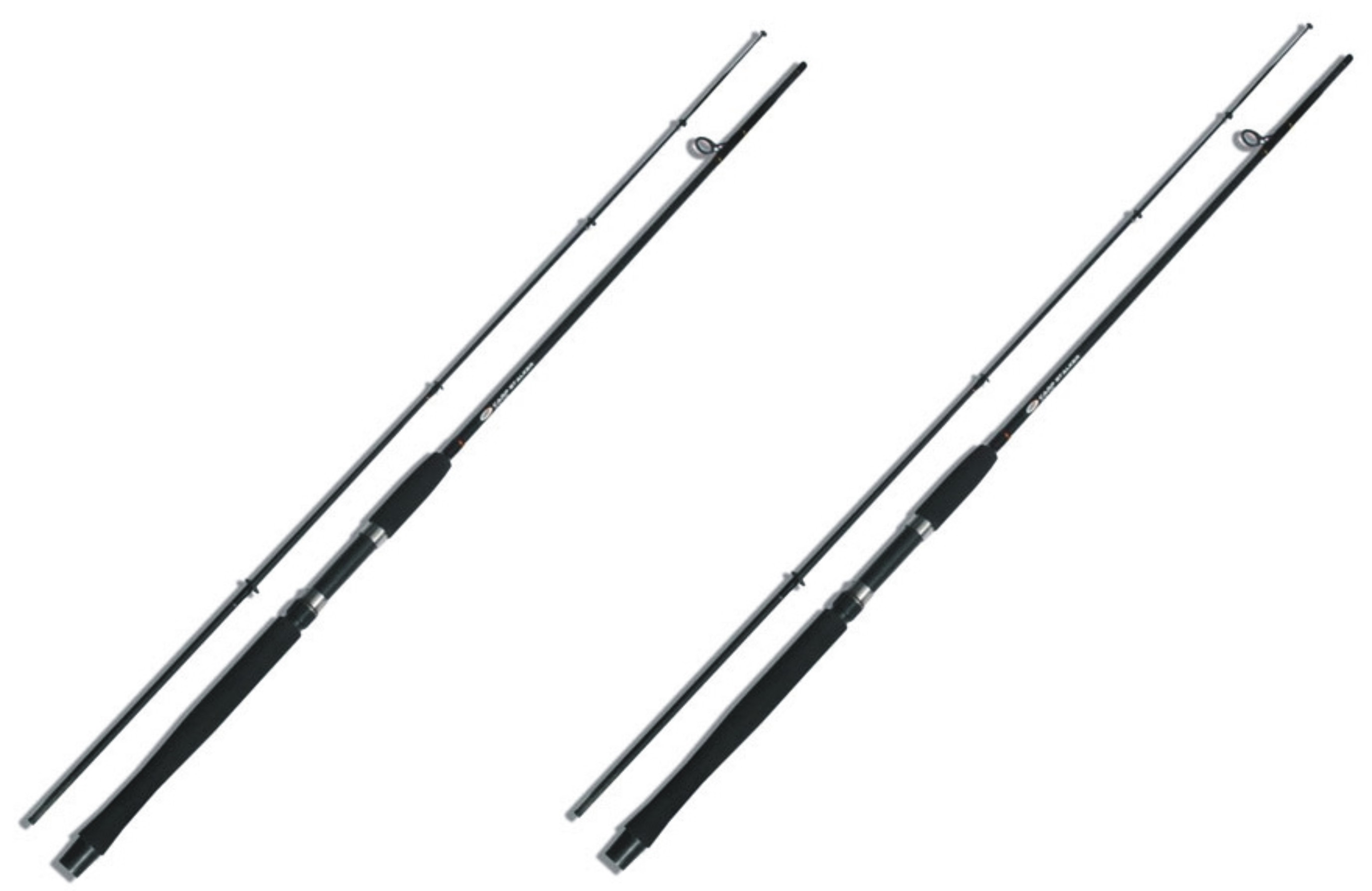 NGT Prut Carp Stalker Rod 8ft/2pc Black 1+1