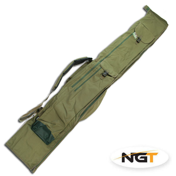 NGT Pouzdro na 3 Pruty 12 - 13ft Deluxe