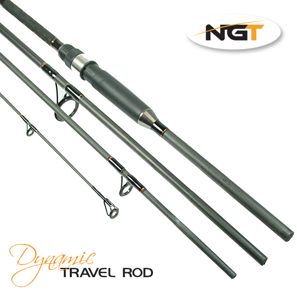 NGT Prut Dynamic Travel Carp 11ft, 4pc