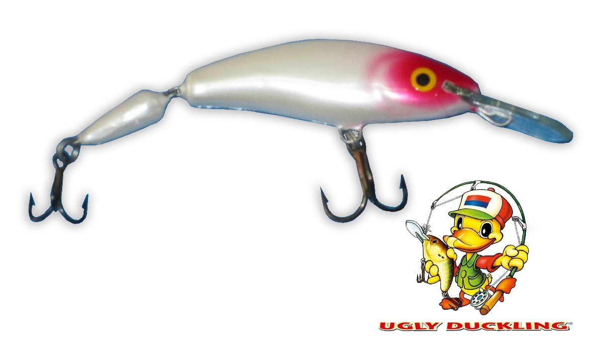 UGLY DUCKLING Wobler 9,5cm Jointed, RH - Sinking