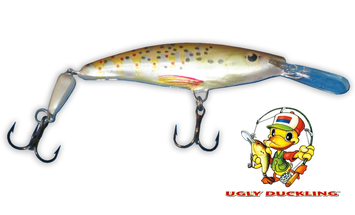 UGLY DUCKLING Wobler 9,5cm Jointed, BT - Sinking