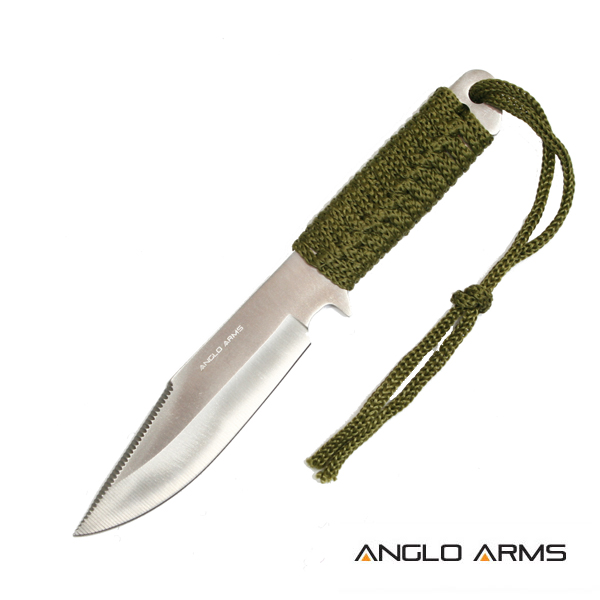 ANGLO ARMS Nůž Laced Boot Knife & Sheat Zelený