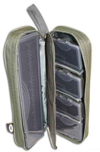 NGT Pouzdro na návazce Tackle Bit Box and Rig Board