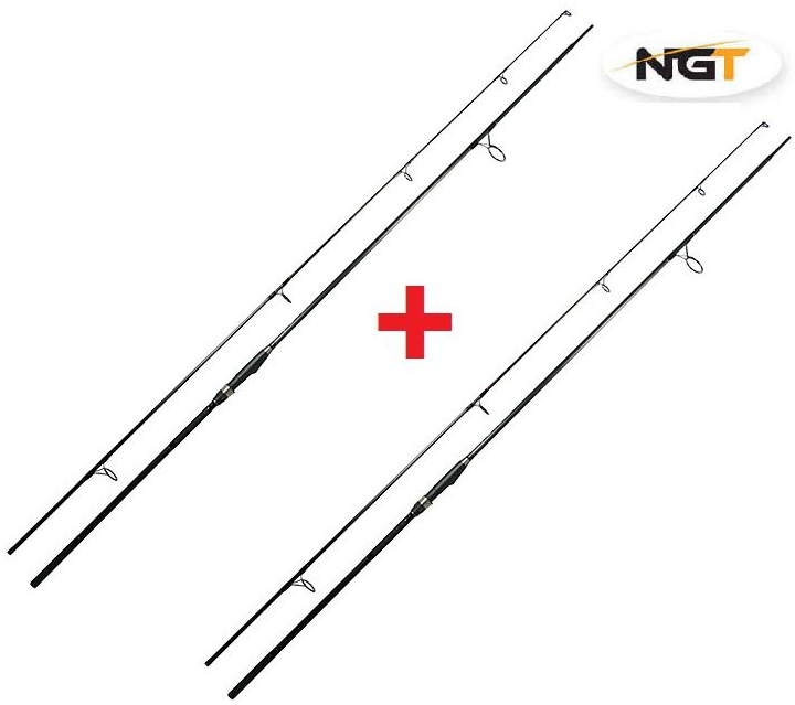 1+1 NGT Prut Dynamic Carp Black 12ft, 3lb