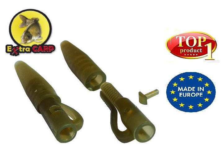 Extra Carp Lead clip with Tail Rubber