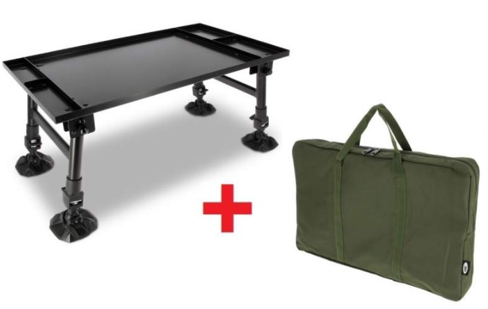 NGT Stolek Dynamic Giant Bivvy Table + Taška