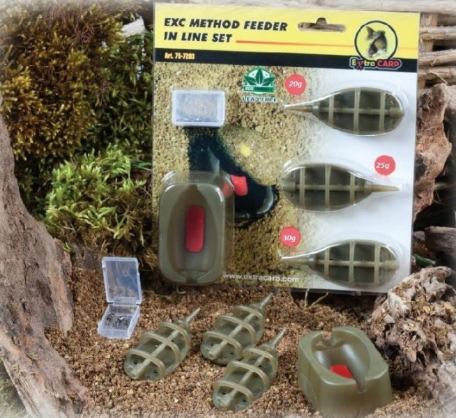 Extra Carp Feeder - Method set 20,25,30g