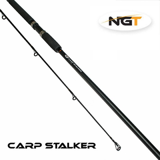 NGT Prut Carp Stalker Rod 8ft/2pc Black