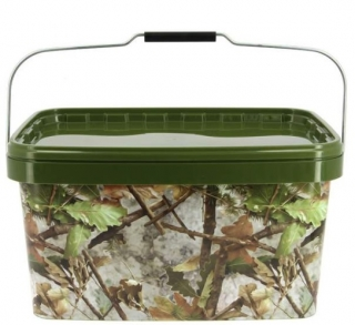 NGT Kbelík Medium Camo Bucket Square 5l
