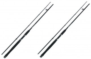 1+1 NGT Prut Carp Stalker Rod 8ft/2pc Black